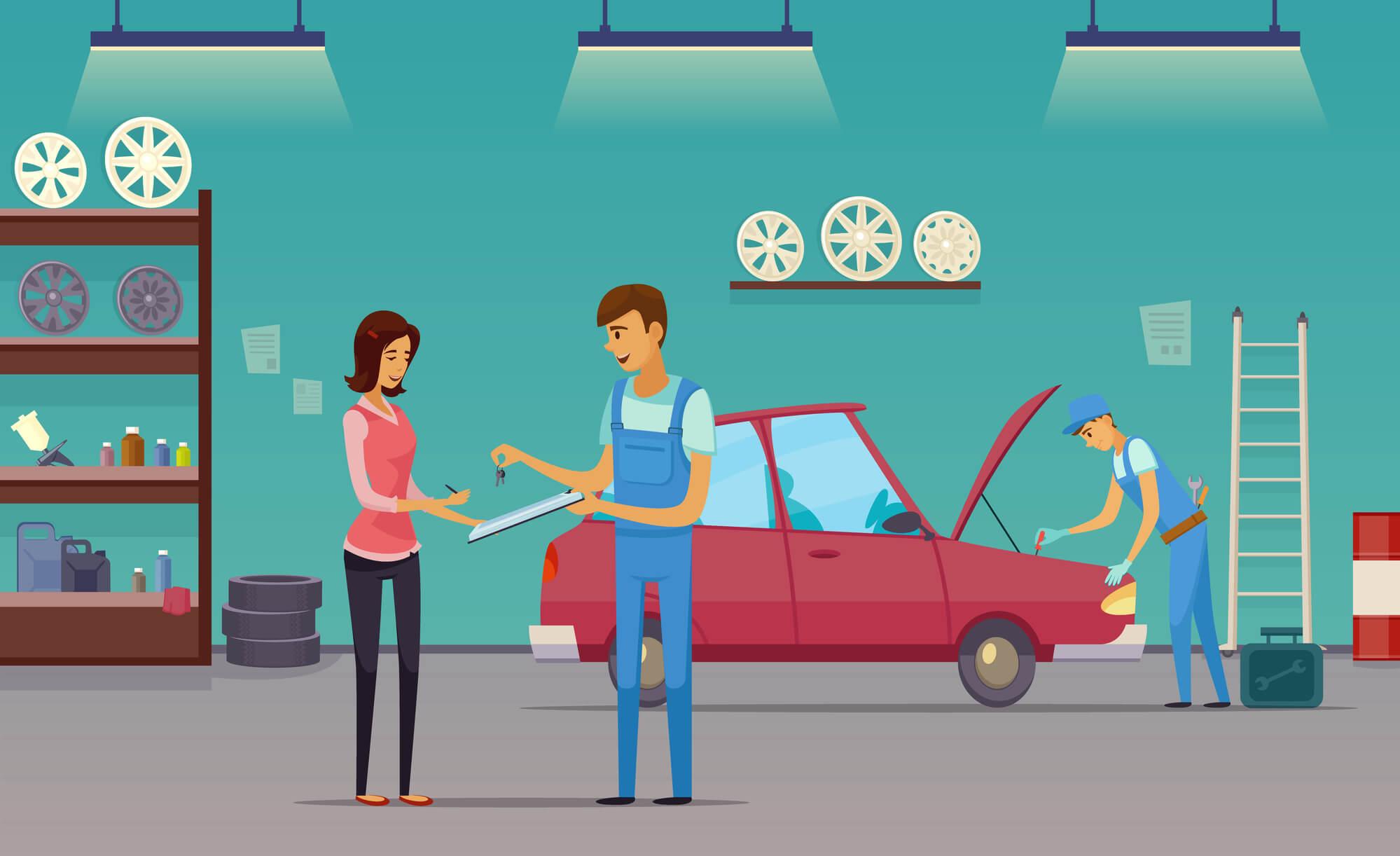 manutenção de veículos