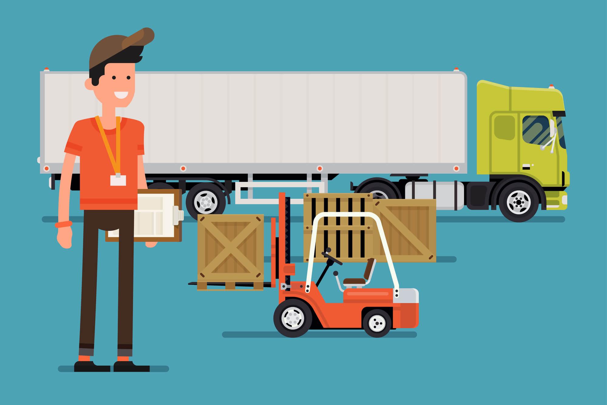 Como educar os motoristas da frota de caminhões