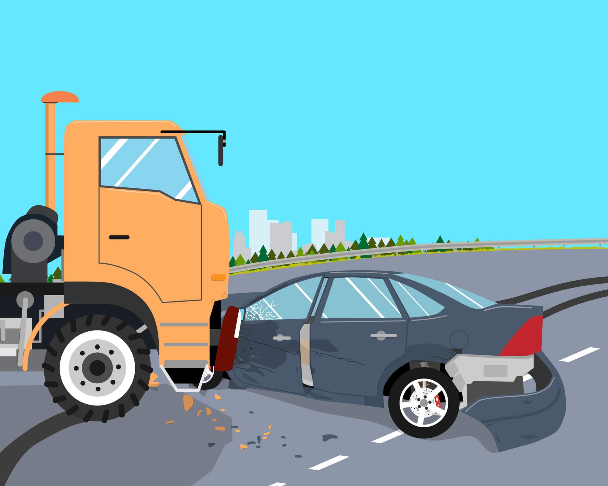 acidentes com caminhoneiros