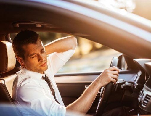 alongamento para motorista